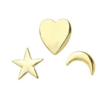 Broşlar alaşım Altın Mücevher Günlük
