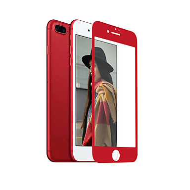 حامي الشاشة Apple إلى iPhone 7 Plus زجاج مقسي 1 قطعة حامي شاشة أمامي 2.5Dحافة منعظفة 9Hقسوة (HD) دقة عالية