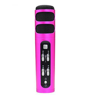 no Przewodowy Mikrofon do karaoke 3,5 mm Czerwony