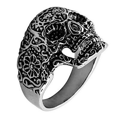 billige Damesmykker-Ringer Daglig Avslappet Smykker Legering Ring 1 stk,18 19 20 Sølv