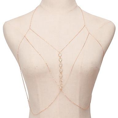 Naszyjniki choker Oświadczenie Naszyjniki Biżuteria Kryształ Biżuteria StopUnikalny Modny Osobiste euroamerykańskiej Oświadczenie