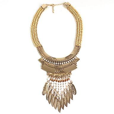 Kadın Uçlu Kolyeler Açıklama Kolye Mücevher Mücevher alaşım Moda Kişiselleştirilmiş Euramerican Halk Stili Avrupa Mücevher UyumlulukParti