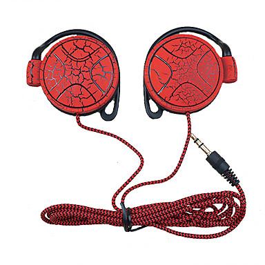 mp3 çalar bilgisayar mobil telefon kulaklık için shini kulaklık 3.5mm kulaklık kulak kancası kulaklık