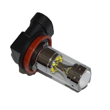 ieftine Lumini de Ceață Mașină-h8 h9 h11 becuri de masina auto 60w de înaltă performanță a condus lumina de ceață