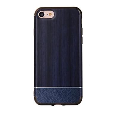 Na Odporne na wstrząsy Kılıf Etui na tył Kılıf Tekstura drewna Twarde PC na Apple iPhone 7 Plus iPhone 7 iPhone 6s Plus/6 Plus iPhone 6s/6