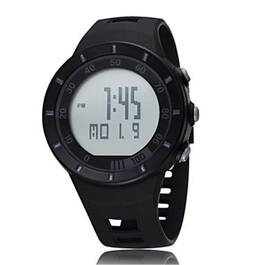 Ανδρικά Αθλητικό Ρολόι Ρολόι Φορέματος Μοδάτο Ρολόι Ρολόι Καρπού Ψηφιακό ρολόι Ψηφιακό LED σιλικόνη Μπάντα Φυλαχτό Καθημερινά Πολυτελές