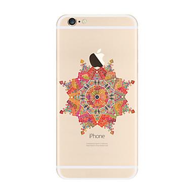 tok Για Apple iPhone X iPhone 8 Plus Διαφανής Με σχέδια Πίσω Κάλυμμα Μάνταλα Μαλακή TPU για iPhone X iPhone 8 Plus iPhone 8 iPhone 7 Plus