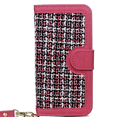 Maska Pentru Apple iPhone 7 Plus iPhone 7 Titluar Card Anti Praf Cu Stand Carcasă Telefon Culoare solidă Greu textil pentru iPhone 7 Plus