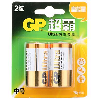 gp gp14au-2il2 c alikaline akku 1.5V 2 kpl