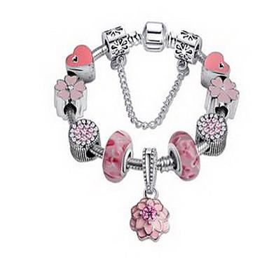 أساور السلسلة والوصلة حب الطبيعة موضة المجوهرات الفاخرة كريستال تقليد الماس مجوهرات مجوهرات من أجل عيد ميلاد