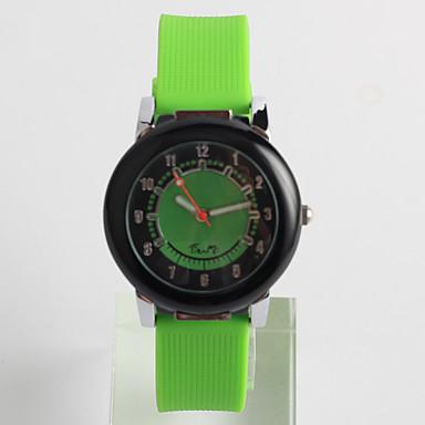 pentru Doamne Ceas La Modă Ceas Casual Quartz / Silicon Bandă Casual Verde Verde militar
