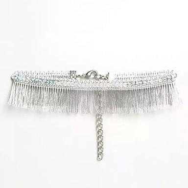 Kadın Gerdanlıklar Açıklama Kolye Mücevher Mücevher Dantel Püsküller Moda Euramerican İfade Takıları Kişiselleştirilmiş Avrupa Mücevher