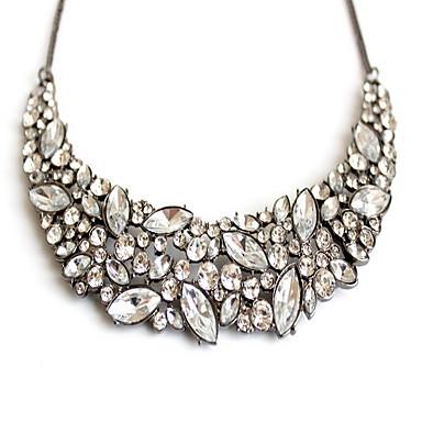 Γυναικεία Κολιέ Δήλωση Κοσμήματα Πετράδι Κράμα Κοσμήματα Μοντέρνα Εξατομικευόμενο Euramerican Λευκό ΚοσμήματαΠάρτι Ειδική Περίσταση