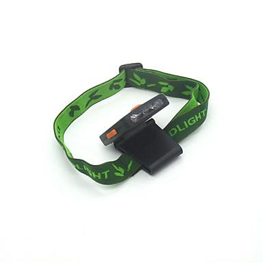 مصابيح أمامية كابل LED 300 lm 1 طريقة LED جهاز استشعار قصاصة حجم مصغر رأس ميول Camping/Hiking/Caving أخضر الصيد الخارج التسلق متعددة