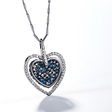 Κρεμαστά Κολιέ Κρυστάλλινο Καρδιά Κρύσταλλο Κρεμαστό Βασικό Love Ευρωπαϊκό Κοσμήματα Για Καθημερινά Causal