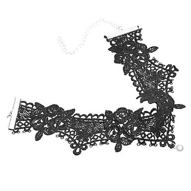 Γυναικεία Κολιέ Τσόκερ Κοσμήματα Κοσμήματα Μαργαριτάρι Δαντέλα Euramerican μινιμαλιστικό στυλ Ευρωπαϊκό Φλοράλ Μοντέρνα Εξατομικευόμενο