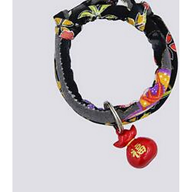 Pisici Gulere Papion Drăguț și drăgălaș Solid Material Textil Negru Mov Galben Rosu Albastru