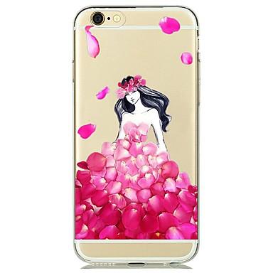 Για Διαφανής tok Πίσω Κάλυμμα tok Σέξι κυρία Μαλακή TPU για AppleiPhone 7 Plus iPhone 7 iPhone 6s Plus iPhone 6 Plus iPhone 6s iPhone 6