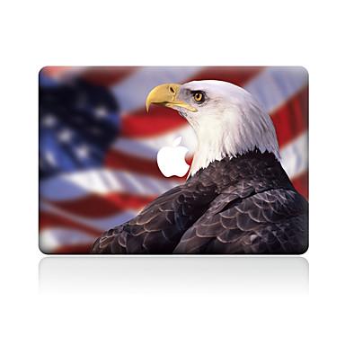 1 szt. Naklejka na obudowę na Odporne na zadrapania Zwierzę Wzorki PVC MacBook Pro 15'' with Retina MacBook Pro 15'' MacBook Pro 13''