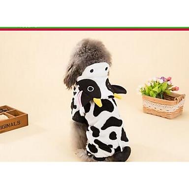Câine Haine Îmbrăcăminte Câini Draguț Casul/Zilnic Animal Negru/Alb