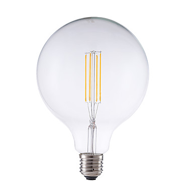 GMY® 1pc 4W 450 lm E26/E27 LED Filaman Ampuller G125 4 led COB Kısılabilir Dekorotif Sıcak Beyaz AC 220-240V