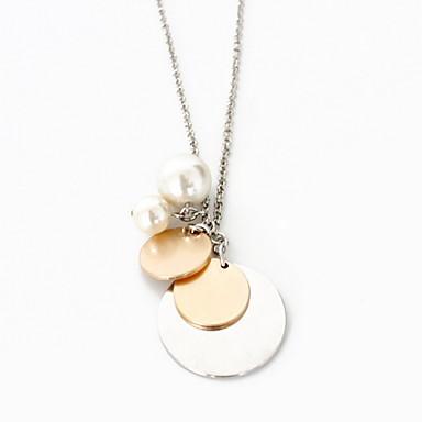 Γυναικεία Κολιέ Τσόκερ Κρεμαστά Κολιέ Κοσμήματα Κοσμήματα Συνθετικοί πολύτιμοι λίθοι Κράμα Μοντέρνα Εξατομικευόμενο Euramerican Ευρωπαϊκό