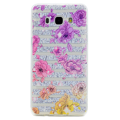Kılıf Na Samsung Galaxy J7 Prime J5 Prime Przezroczyste Wzór Etui na tył Kwiaty Miękkie TPU na J7 Prime J5 (2016) J5 Prime J3 (2016) J3