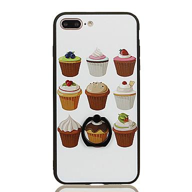 Για Βάση δαχτυλιδιών Με σχέδια tok Πίσω Κάλυμμα tok Φαγητό Σκληρή PC για Apple iPhone 7 Plus iPhone 7