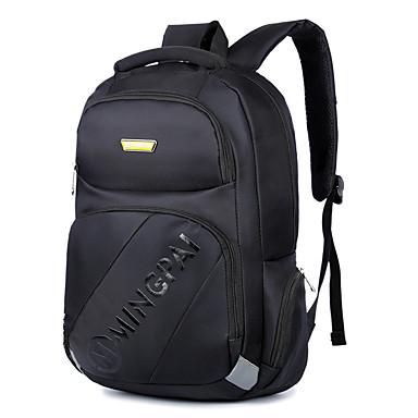erkekler için 15.6 inç dizüstü bilgisayar çantaları kar tanesi bez bilgisayar omuz çantası