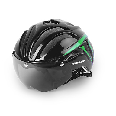 biciclete Casca 11 Găuri de Ventilaţie Ciclism Ajustabil Față Integrală Urban Munte Vizor Ultra Ușor (UL) Tinerețe PC EPS Ciclism stradal