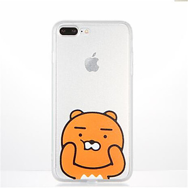 Na Wzór Kılıf Etui na tył Kılıf Kreskówka Miękkie TPU na Apple iPhone 7 Plus iPhone 7 iPhone 6s Plus iPhone 6 Plus iPhone 6s iphone 6