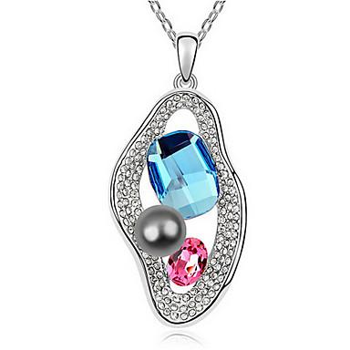 Pentru femei Coliere cu Pandativ Cristal Design Unic Stil Atârnat Bijuterii Pentru Petrecere