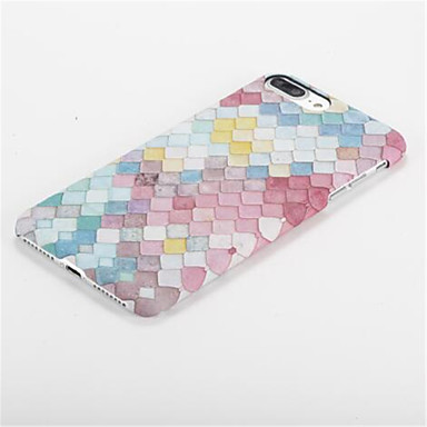 7 iPhone disegno Apple per Per Per 05679858 7 Plus Effetto PC Resistente iPhone ghiaccio iPhone Custodia 7 retro Fantasia Geometrica iPhone 7 Plus Eq1vwC