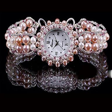 Pentru femei Ceas La Modă Quartz Jade Bandă Pink