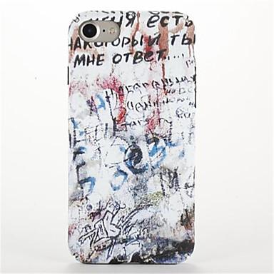 Kılıf Na Apple iPhone 7 Plus iPhone 7 Wzór Czarne etui Napis Twarde PC na iPhone 7 Plus iPhone 7 iPhone 6s Plus iPhone 6s iPhone 6 Plus