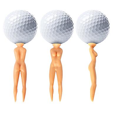 골프핀 골프 액세서리 방수 휴대용 견고함 재사용 가능 플라스틱 용 골프 - 50개