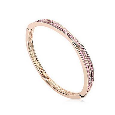 للمرأة أساور مجوهرات الصداقة موضة زركون سبيكة Geometric Shape مجوهرات من أجل حزب عيد ميلاد هدية