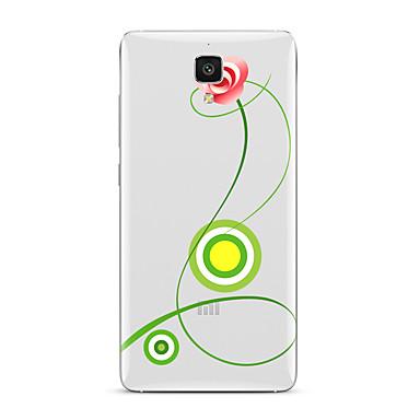 Pentru Transparent Model Maska Carcasă Spate Maska Floare Moale TPU pentru XiaomiXiaomi Mi 5 Xiaomi Mi 4 Xiaomi Mi 5s Xiaomi Mi 5s Plus