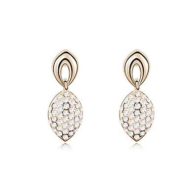 Damskie Kryształ Spersonalizowane Unikalny euroamerykańskiej Biżuteria Na Ślub Impreza Urodziny