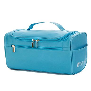 منظم أغراض السفر حقيبة أدوات تجميل حقيبة أدوات تجميل للسفر حقيبة مستحضرات التجميل مقاوم للماء المحمول سعة كبيرة تخزين السفر إلى ملابس
