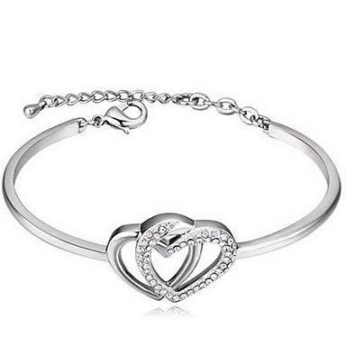 Damskie Bransoletki i łańcuszki na rękę Biżuteria Przyjaźń Modny Kryształ Stop Geometric Shape Biżuteria Na Impreza Urodziny