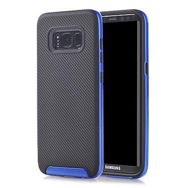 غطاء من أجل Samsung Galaxy S8 Plus S8 ضد الصدمات غطاء خلفي لون الصلبة قاسي TPU إلى S8 S8 Plus S7 edge S7 S6 edge S6 S5 S4