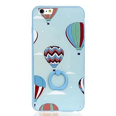 Για Βάση δαχτυλιδιών Με σχέδια tok Πίσω Κάλυμμα tok Μπαλόνι Σκληρή PC για Apple iPhone 6s Plus iPhone 6 Plus iPhone 6s iPhone 6