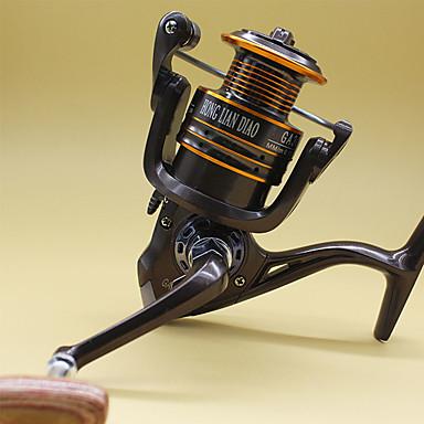 Kołowrotki Kołowrotki spinningowe 5.2:1 13 Łożyska kulkowe Zwrócony w prawo General Fishing-GA4000