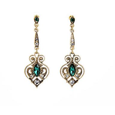 Pentru femei Cercei Stud Cristal La modă Vintage Personalizat Euramerican Floral Bijuterii Pentru Nuntă Petrecere Zi de Naștere