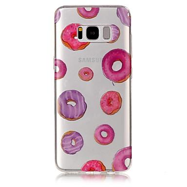 غطاء من أجل Samsung Galaxy S8 Plus S8 IMD شفاف نموذج غطاء خلفي مأكولات ناعم TPU إلى S8 S8 Plus S7 edge S7 S6 edge S6 S5