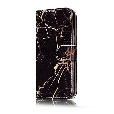 Maska Pentru Samsung Galaxy A5(2017) A3(2017) Portofel Titluar Card Cu Stand Întoarce Corp Plin Marmură Greu PU Piele pentru A3 (2017) A5