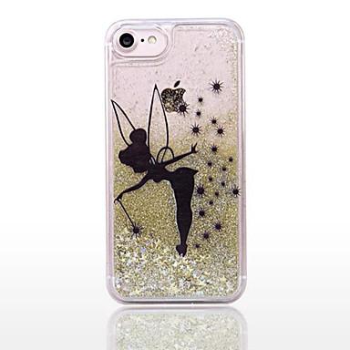 8 iPhone Plus Plus Per iPhone Glitterato Custodia retro 8 a 05658502 Liquido PC Per per cascata 8 iPhone Resistente iPhone 8 Transparente Apple wqYxxRXAHI