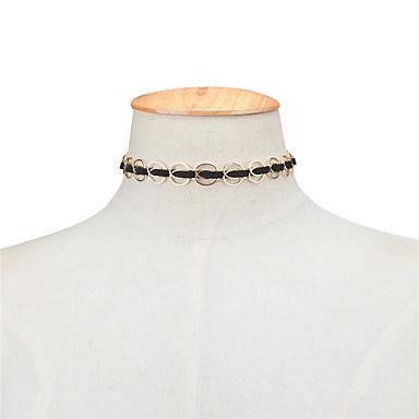 Pentru femei Geometric Shape Personalizat Γεωμετρικά Euramerican Incrucisarea Modă Coliere Choker Bijuterii Articole de ceramică Coliere