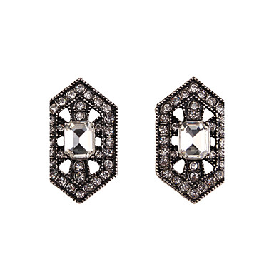 Γυναικεία Κουμπωτά Σκουλαρίκια Κοσμήματα Μοντέρνα Πεπαλαιωμένο Euramerican Συνθετικοί πολύτιμοι λίθοι Κοσμήματα Κοσμήματα Για Γάμου Πάρτι